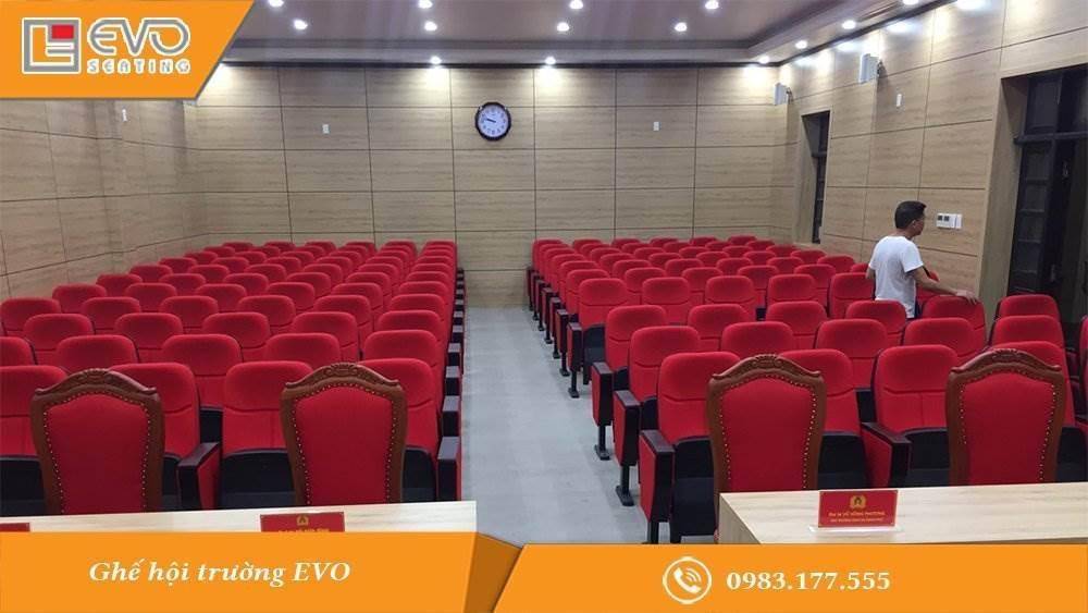 Dự án ghế hội trường Công an Thành phố Hạ Long