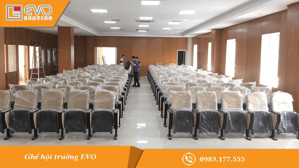 Dự án ghế hội trường tại Ngân hàng Nông nghiệp và Phát triển Nông Thôn Sóc Sơn