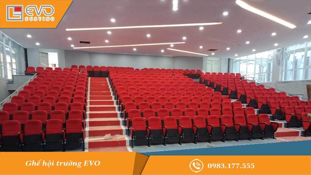 Dự án ghế hội trường tại trường Cao đẳng nghề Việt Xô số 1