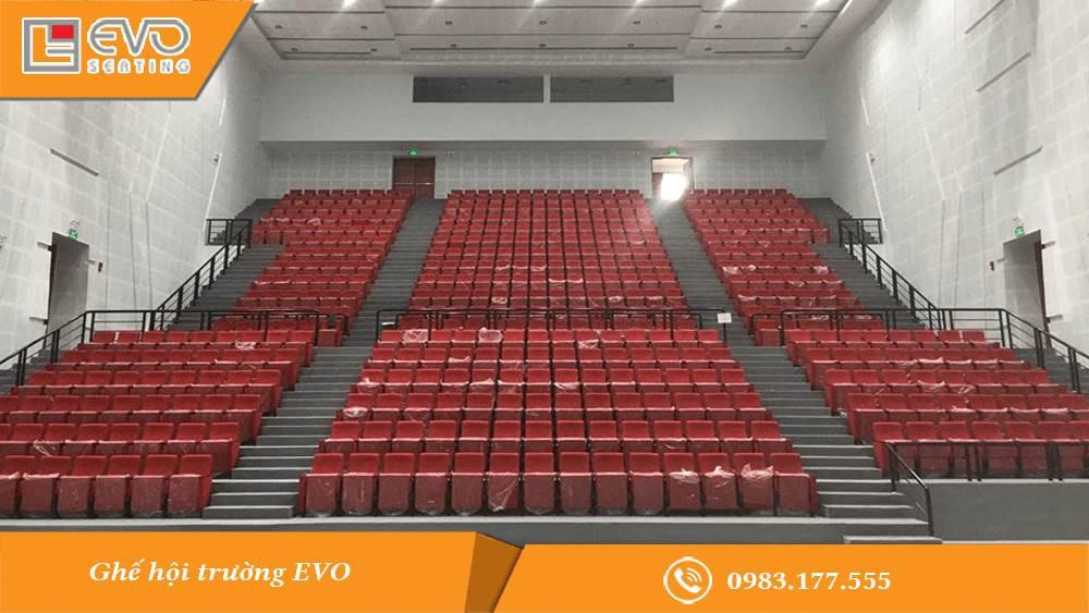 Dự án ghế hội trường tại nhà hát Vĩnh Long