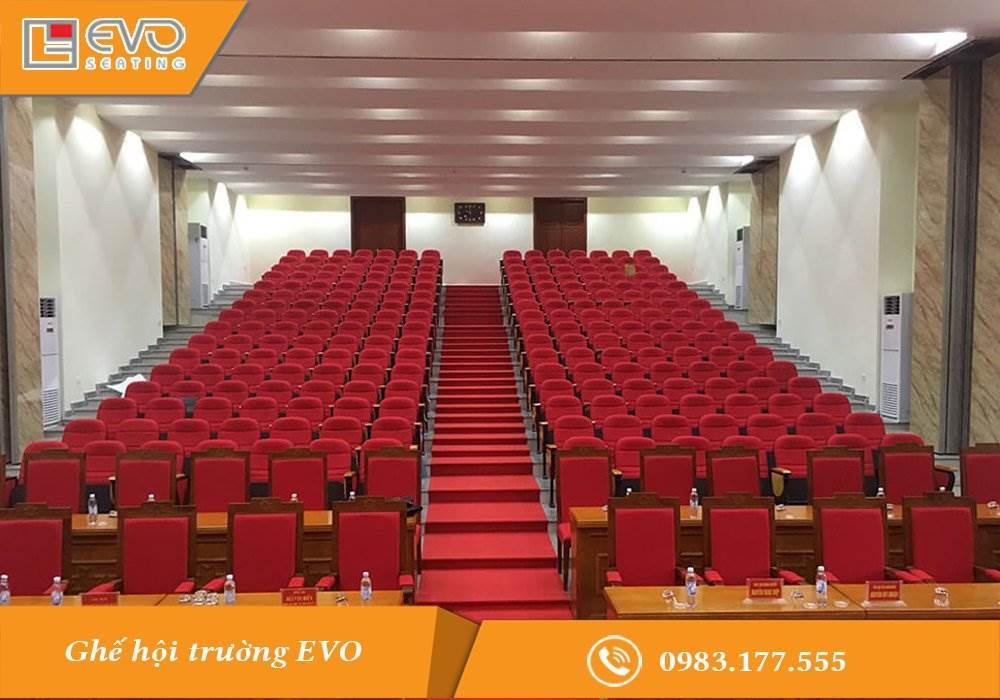 Hội trường UBND huyện Hòa Lạc - tỉnh Hòa Bình (1)