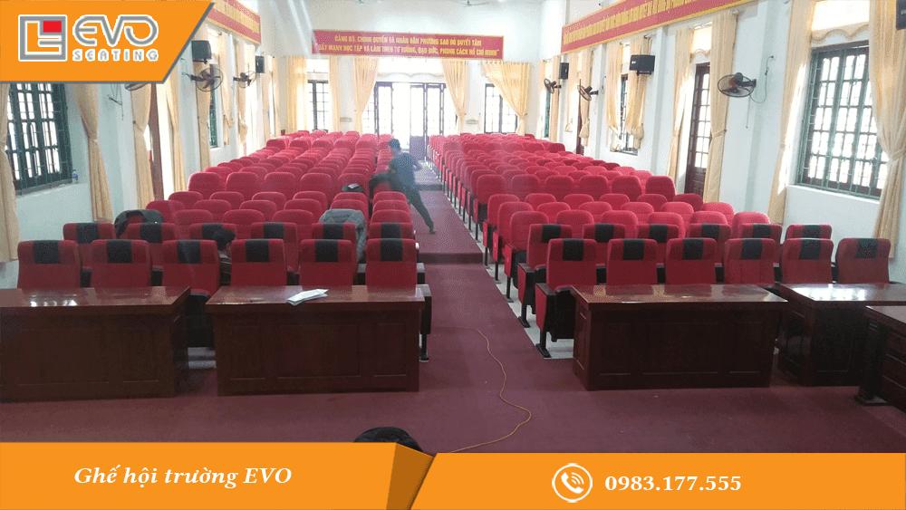 Dự án ghế hội trường tại Phường Sao Đỏ - Chí Linh - Hải Dương