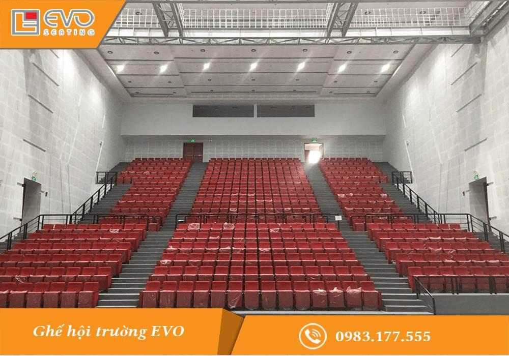 Dự án ghế hội trường tại nhà hát Vĩnh Long (1)