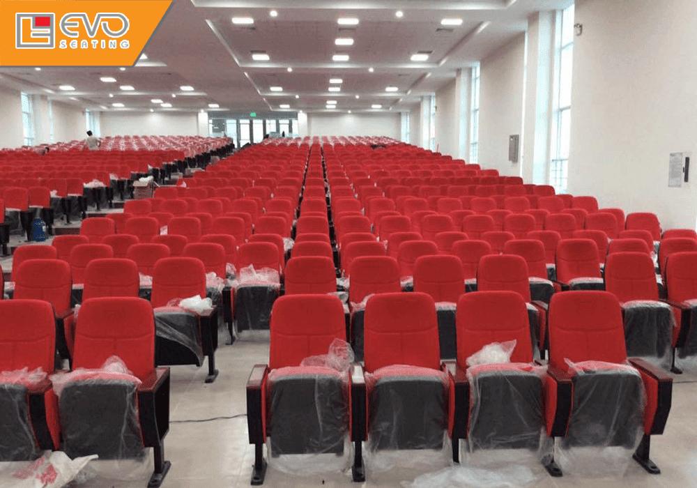 Dự án ghế hội trường đại học HUTECH - Thành phố HCM (2)