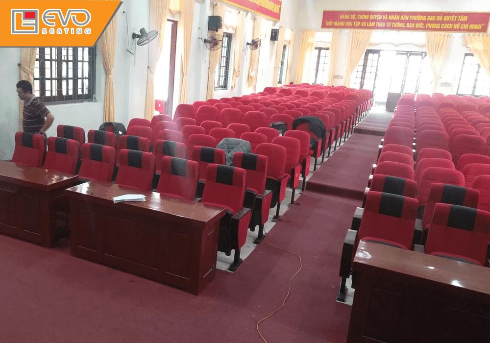 Dự án ghế hội trường tại Phường Sao Đỏ - Chí Linh - Hải Dương (2)