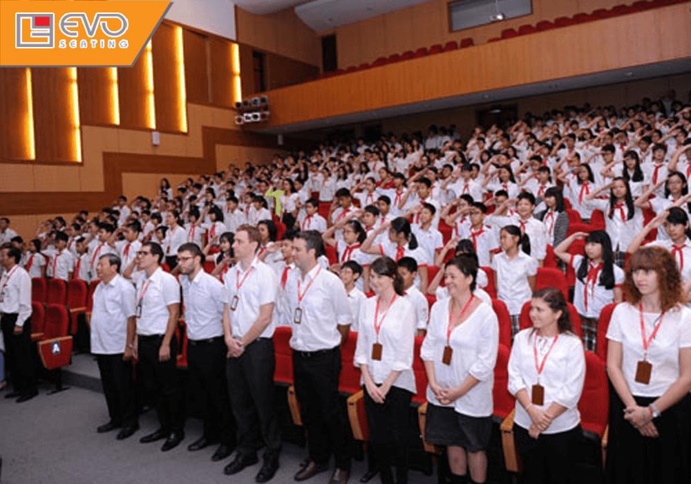 Dự án ghế hội trường tại Trường song ngữ Quốc tế Hanoi Academy (3)