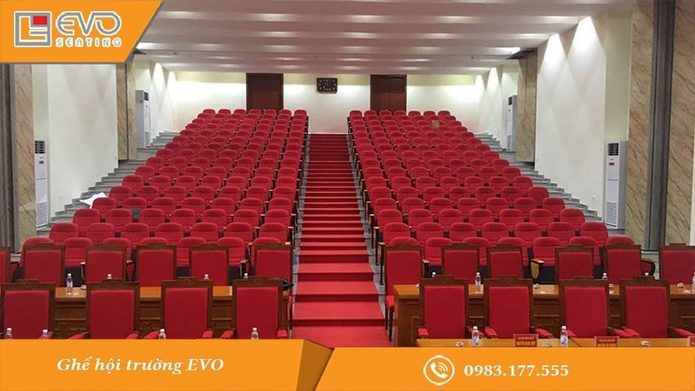 Hội trường UBND huyện Hòa Lạc - tỉnh Hòa Bình