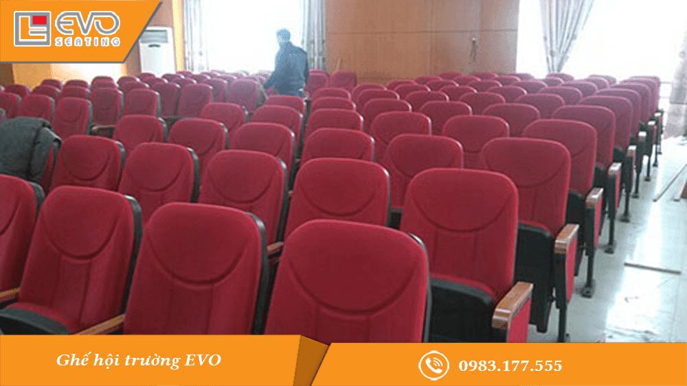 Dự án ghế hội trường tại Cục thuế tỉnh Bắc Giang
