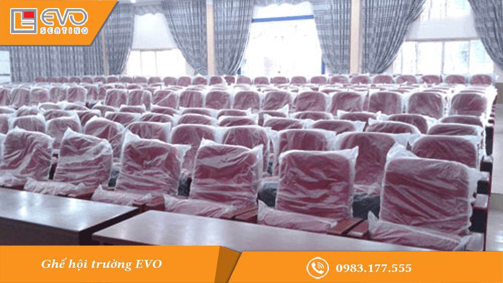 Dự án ghế hội trường tại Đại học Công nghiệp Việt Trì