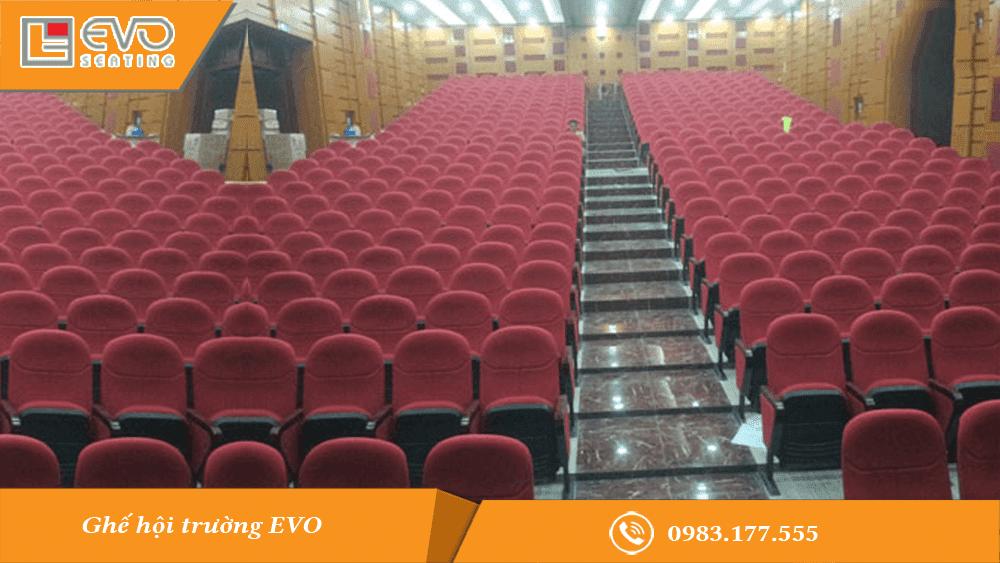 Dự án ghế hội trường tại công ty Nhựa Tiền Phong