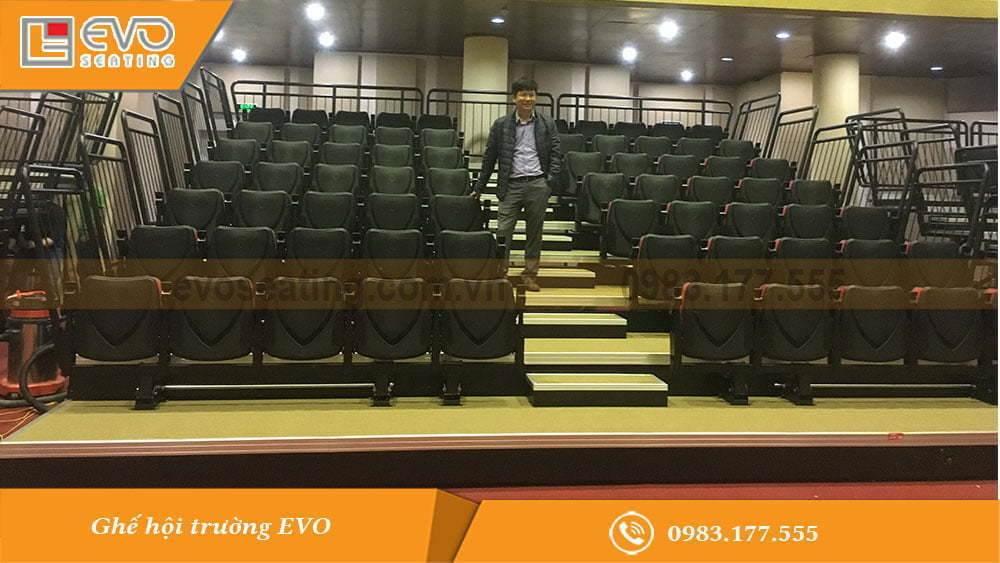 Dự án ghế hội trường đa năng tại Đài truyền hình Hải Phòng